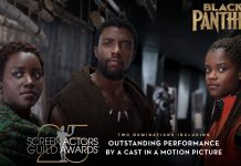 'Black Panther' nominated for 2 SAG Awards; 'Avengers: Infinity War' and 'Ant-Man and the Wasp' also nominated
