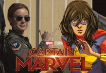 Brie Larson wants to see Ms. Marvel in the 'Captain Marvel' sequel