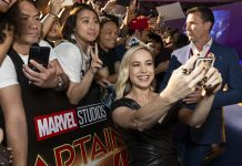 See photos of Brie Larson and the stars of 'Captain Marvel' at the Singapore fan event
